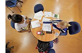 Tutoring at the library