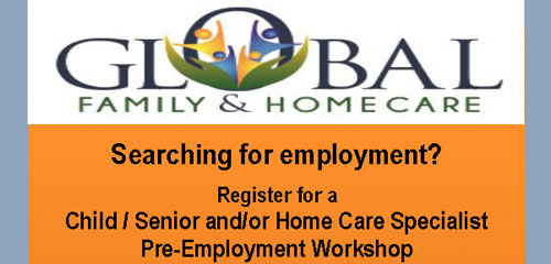 Global Family & Home Care Pre-Employment Workshop and Screening